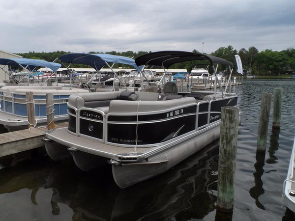 Used Premier Sunsation 220 Pontoon Boat For Sale
