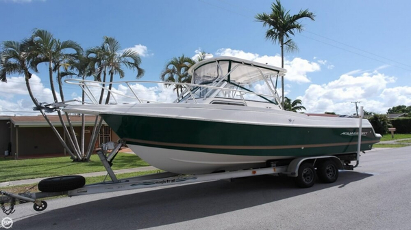 Used Aquasport Explorer 245 Walkaround Fishing Boat For Sale
