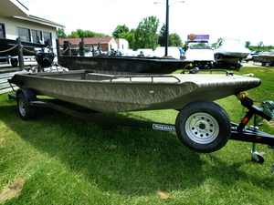 New Gator Trax 17x62 Mud Buddy Hybrid 1762 Jon Boat For Sale