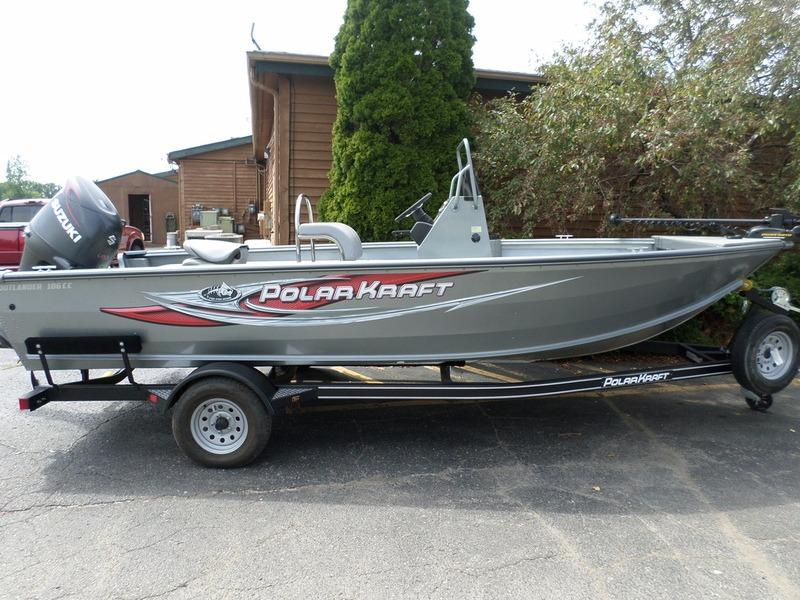 2015 new polar kraft outlander 186 cc aluminum fishing Aluminum boat and motor packages