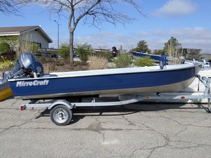 New Mirrocraft Utility V Series 3696 Aluminum Fishing Boat For Sale
