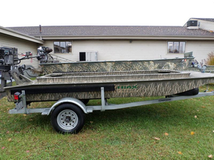 New Gator Trax 14' Marsh Jon Boat For Sale