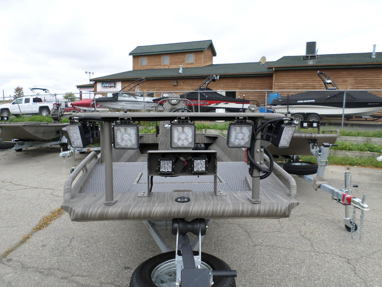 2016 new gator tail gtb1754 jon boat for sale 23 995 for Outboard motors for sale in michigan