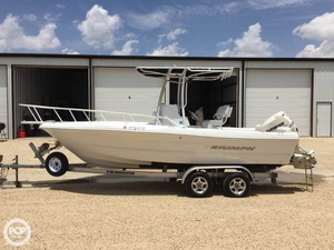 Used Triumph 215 Tournament Edition Center Console Fishing Boat For Sale