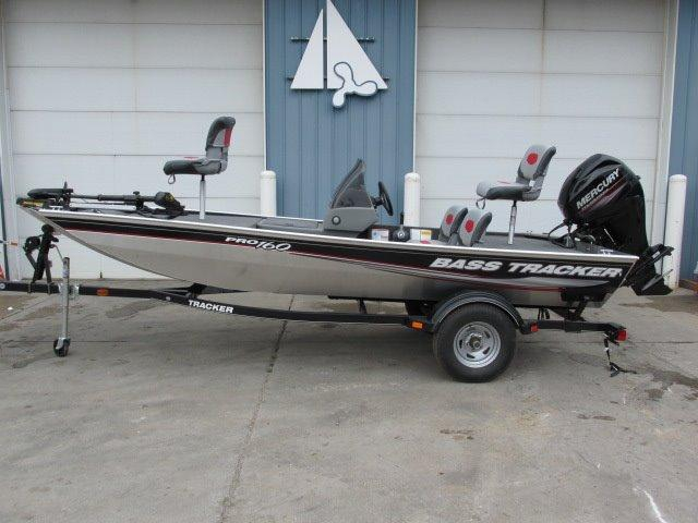 2016 new tracker pro 160 aluminum fishing boat for sale for Used aluminum fishing boats for sale in michigan