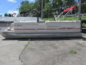 Used Smoker Craft Sunsport Pontoon Boat For Sale