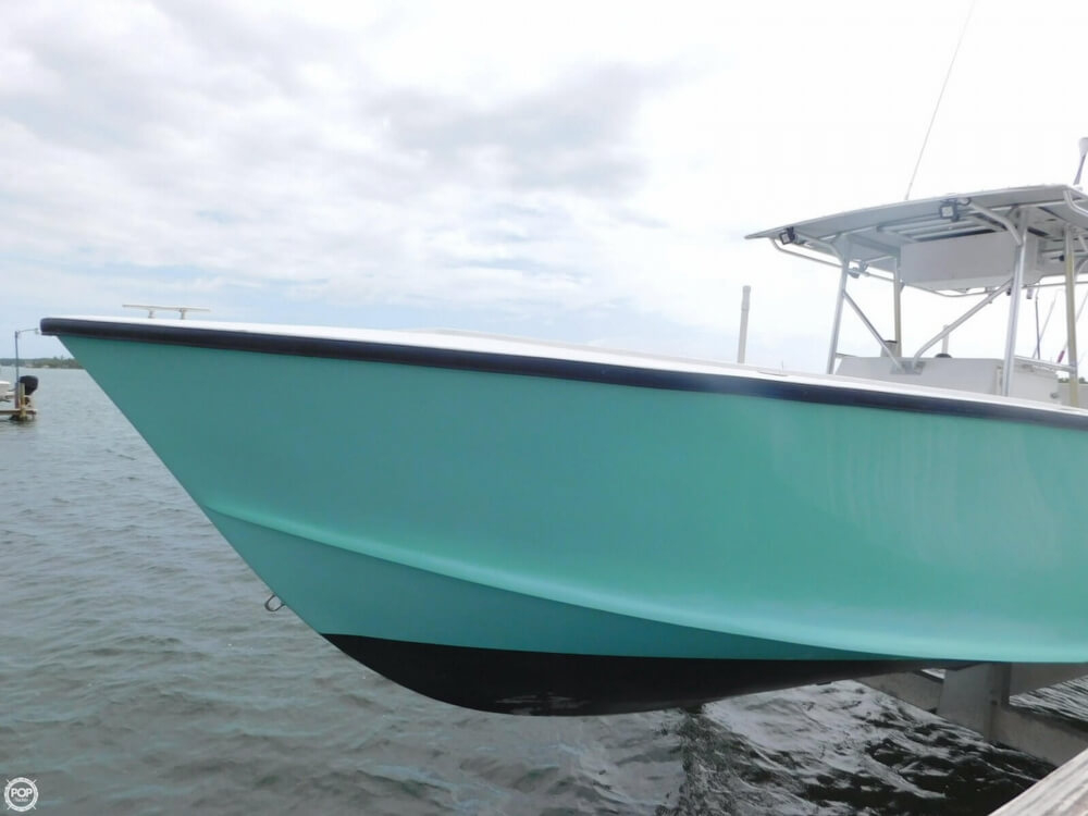 1988 used ocean master 31 center console fishing boat for for Ocean fishing boats