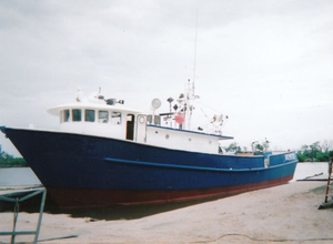 Used Custom Steel Tuna Longline Fish / Cargo / Live-aboard (GPC) Commercial Boat For Sale