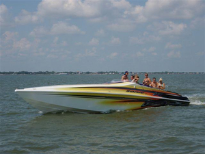 Used Sonic 45SS (JSS) High Performance Boat For Sale