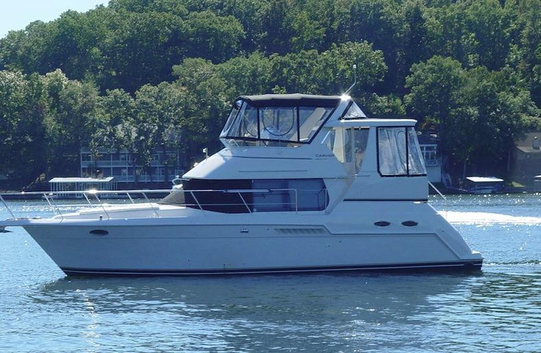 2000 Used Carver 356 Aft Cabin Motor Yacht Motor Yacht For