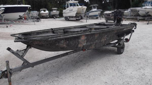 Used Polar Kraft Dakota J 1468 LW (CBM) Jon Boat For Sale