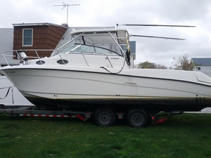 Used Sea Swirl 2901 Striper WA (GXH) Walkaround Fishing Boat For Sale