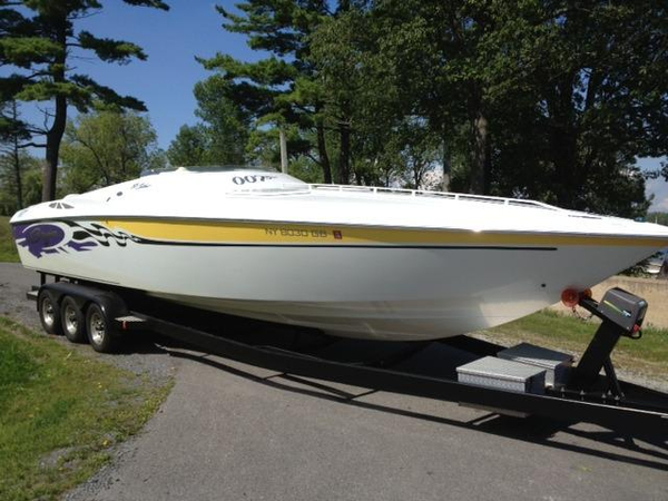 Used Baja 33 Outlaw SST (GXH) High Performance Boat For Sale