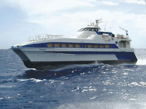 Used Foilcat High Speed Ferry Commercial Boat For Sale