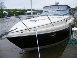 Used Rinker 342 Fiesta Vee (SRG) Express Cruiser Boat For Sale
