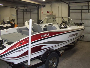 Used Stratos 486 SF (SCL) Sports Fishing Boat For Sale
