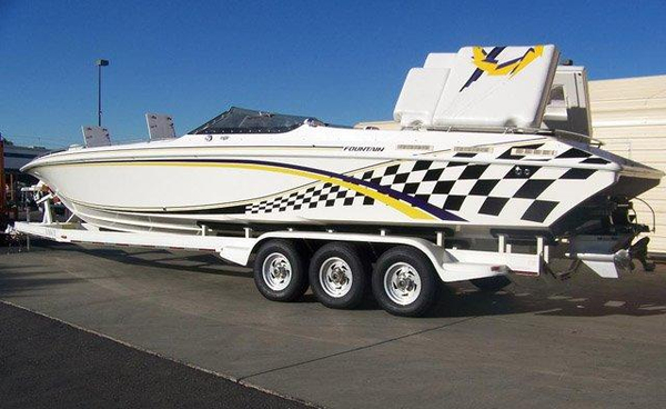 Used Fountain Fever 38 (JSS) High Performance Boat For Sale