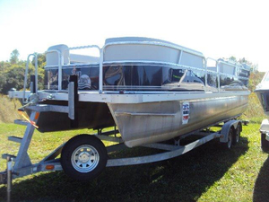 Used G3 Suncatcher 228 Pontoon Boat For Sale