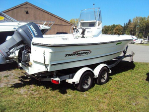 Used Triumph 210 CC (SCL) Saltwater Fishing Boat For Sale