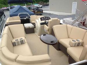 Used Parti Kraft Monaco 240 RL (SRG) Pontoon Boat For Sale