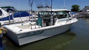 Used Baha Cruisers 299 Fisherman (SRG) Walkaround Fishing Boat For Sale
