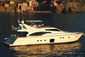 Used Ferretti Yachts 681 Flybridge Boat For Sale