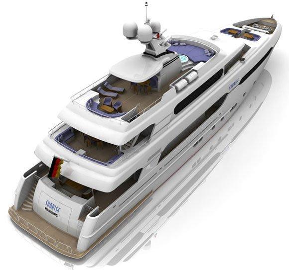 New Sunrise 45 (JSS) Flybridge Boat For Sale