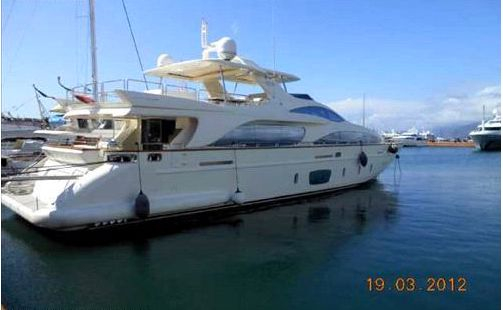 Used Azimut MY (SWJ) Motor Yacht For Sale