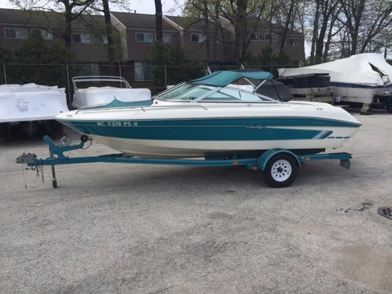 1995 Used Sea Ray 180 SIGNATURE Bowrider Boat For Sale ...