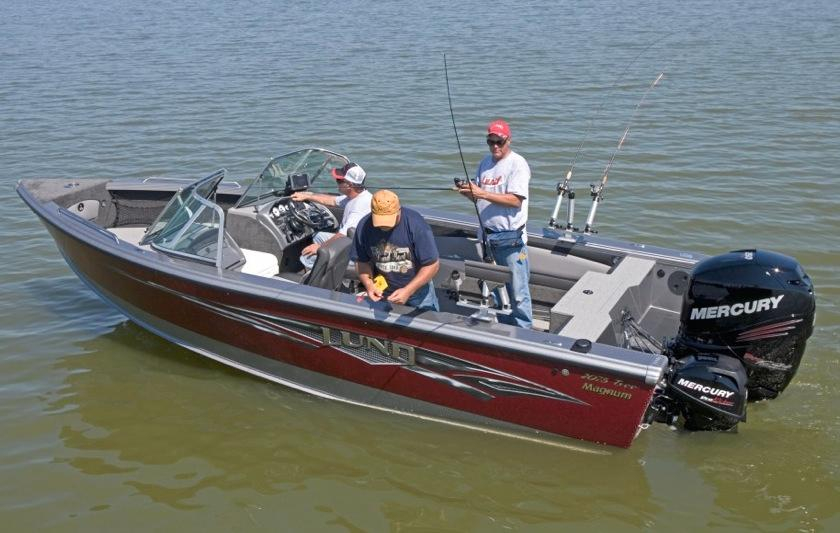 2016 new lund 2075 tyee magnum aluminum fishing boat for for Used aluminum fishing boats for sale in michigan