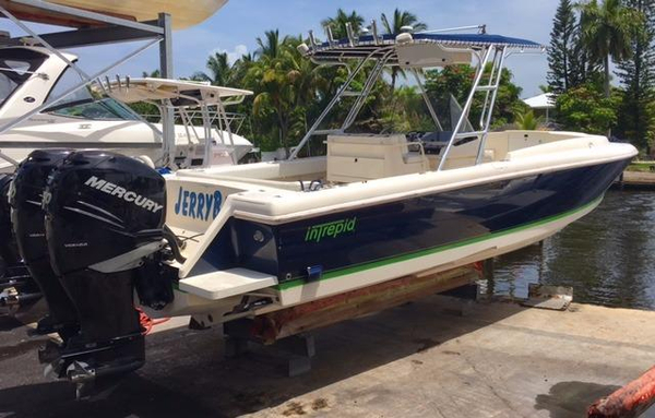 Used Intrepid 323 Cuddy W Forward Seating Cuddy Cabin Boat For Sale