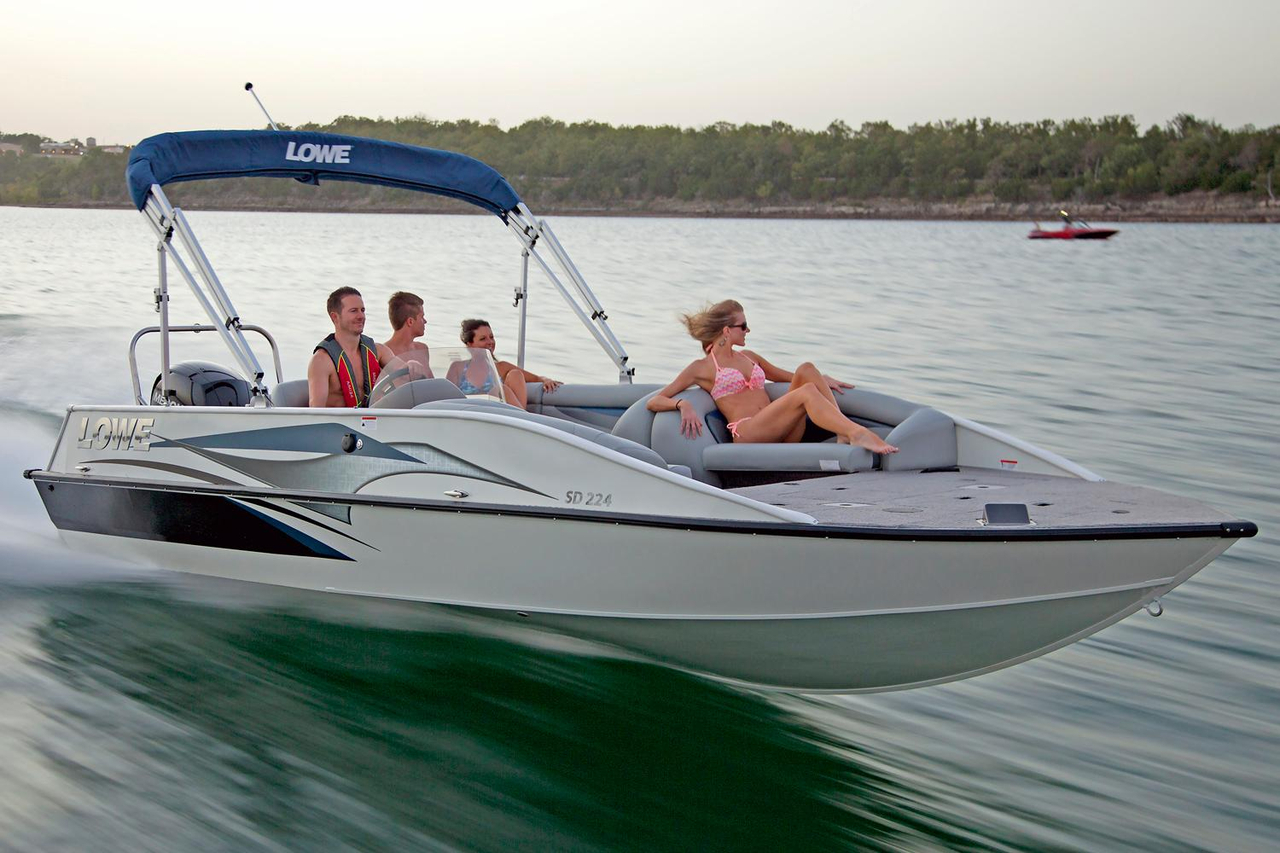 2016 New Lowe Sd224 Sport Deck Boat For Sale 34 251