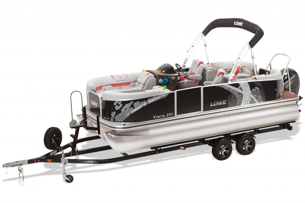 2016 new lowe xtreme 210 pontoon boat for sale 27 457 for Pontoon boat without motor for sale