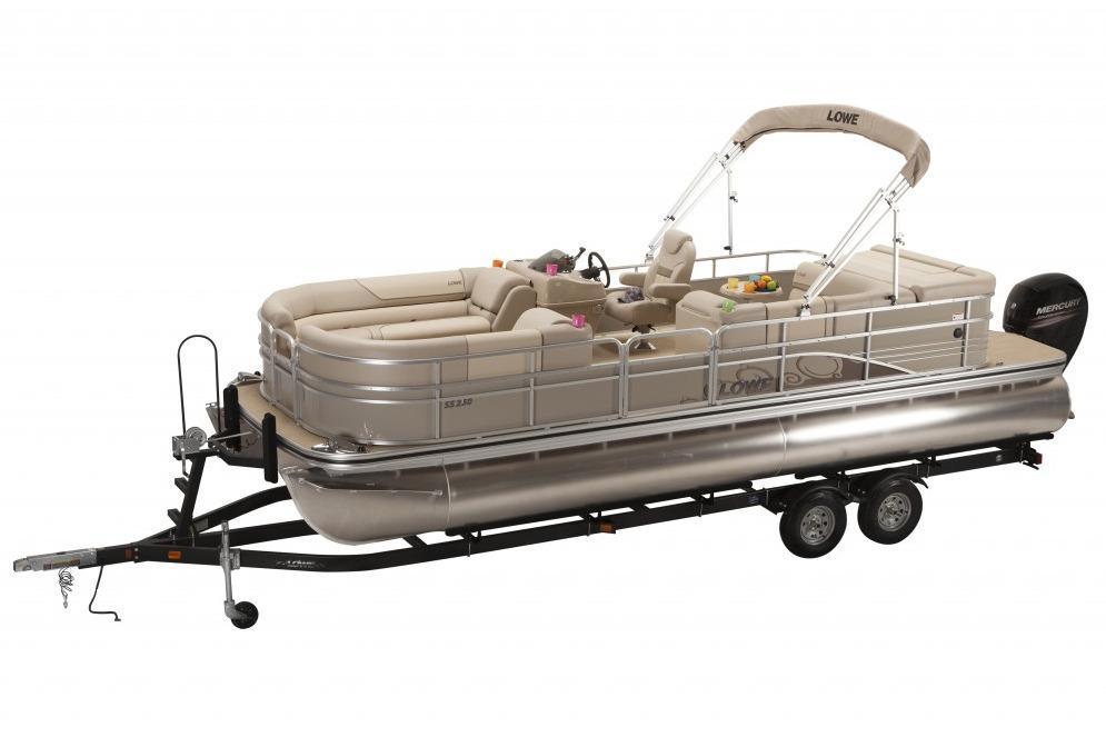 2016 New Lowe Ss250xd Pontoon Boat For Sale 21 497
