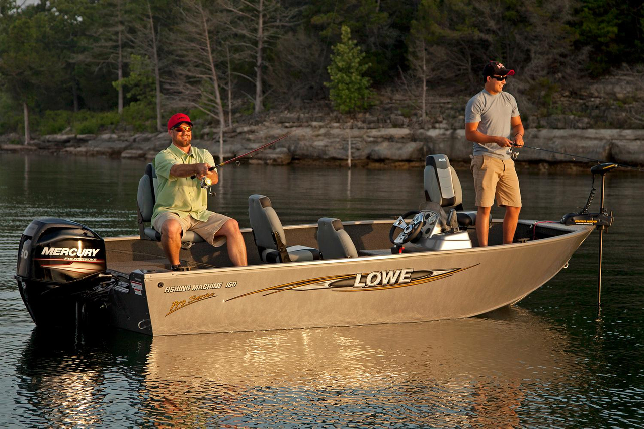 2016 new lowe fm 160 pro aluminum fishing boat for sale for Fishing boats for sale in michigan