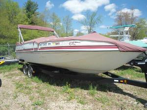 Used Sunchaser 23ft Deckboat Deck Boat For Sale
