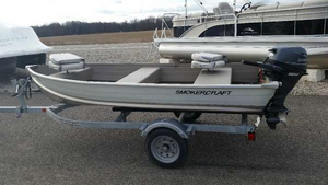 Used Smoker Craft Alaskan 12 TL Utility Boat For Sale
