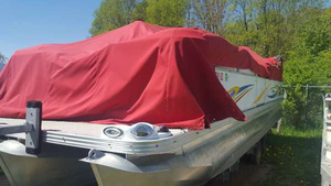 Used Manitou Pontoons 24 Oasis - 8 Foot Wide Pontoon Boat For Sale
