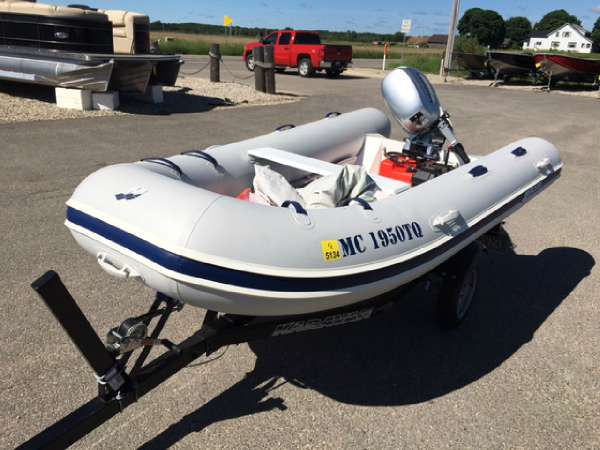 Used Mercury 200 Dinghy PVC Inflatable Boat For Sale