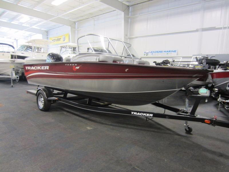 2013 used tracker targa v 18 combo aluminum fishing boat for Fishing boats for sale in michigan