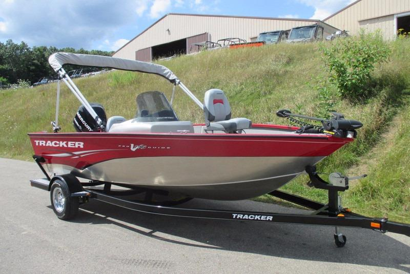 2011 used tracker v175 pro guide sc aluminum fishing boat for Fishing boats for sale in michigan