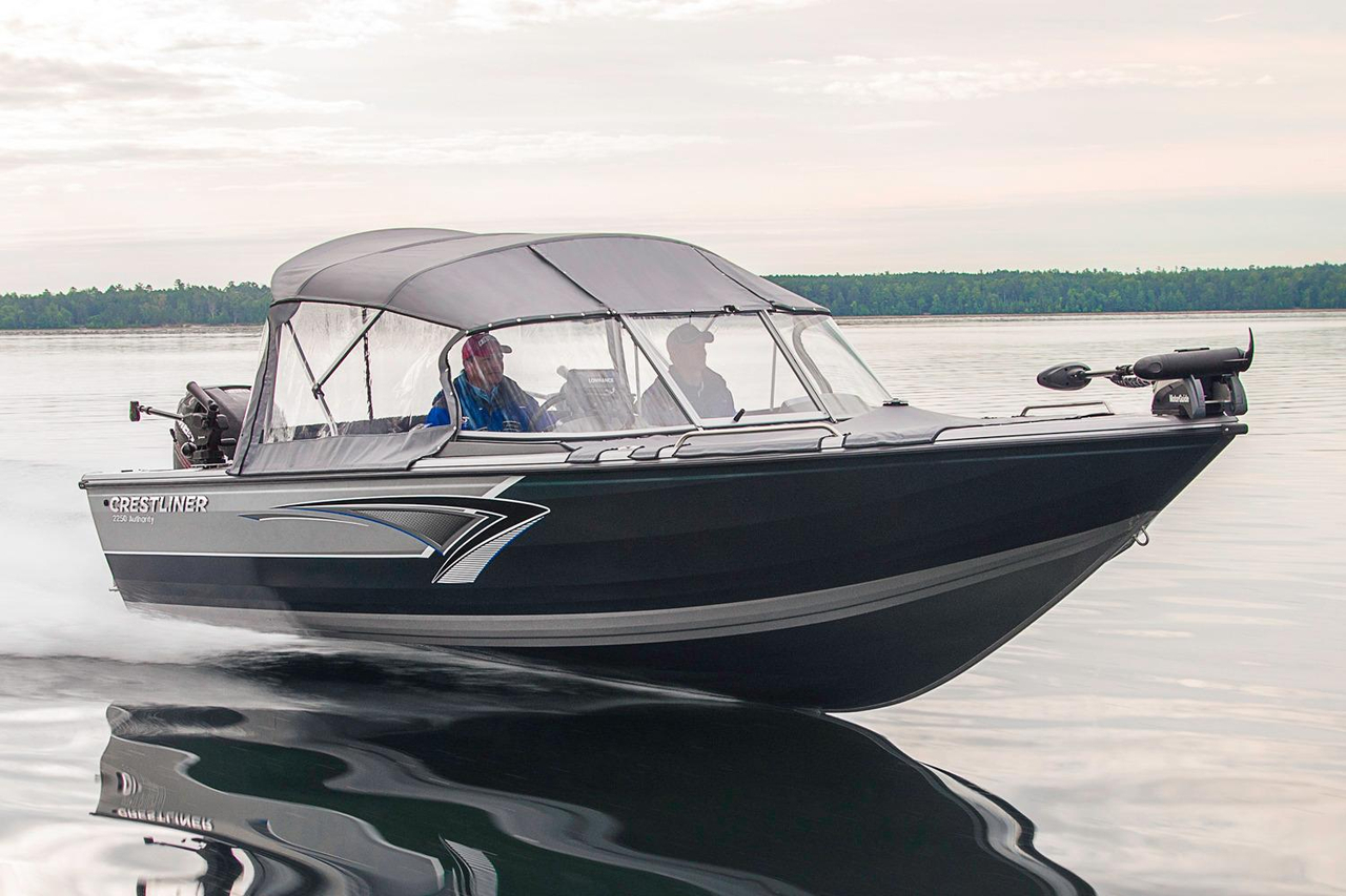 2016 new crestliner 2050 authority aluminum fishing boat for Fishing boats for sale in michigan