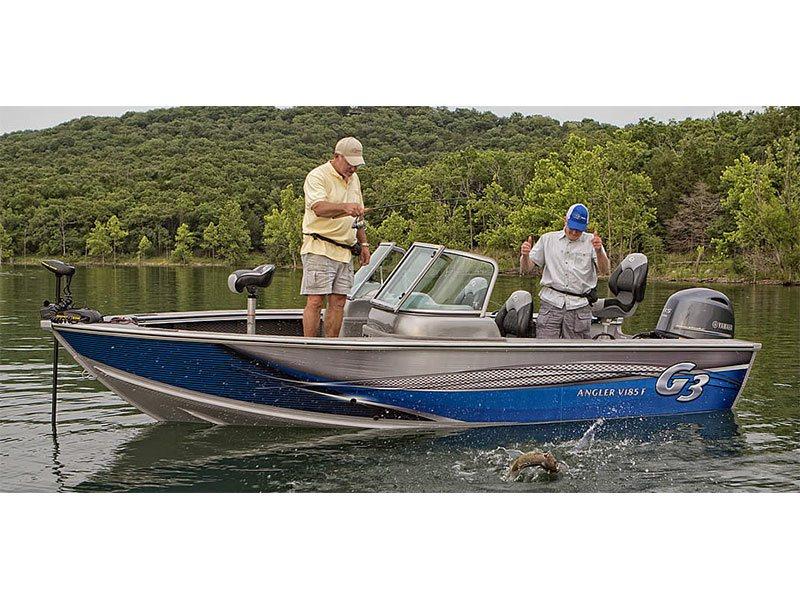 2015 new g3 boats angler v185 f freshwater fishing boat for Freshwater fishing boats