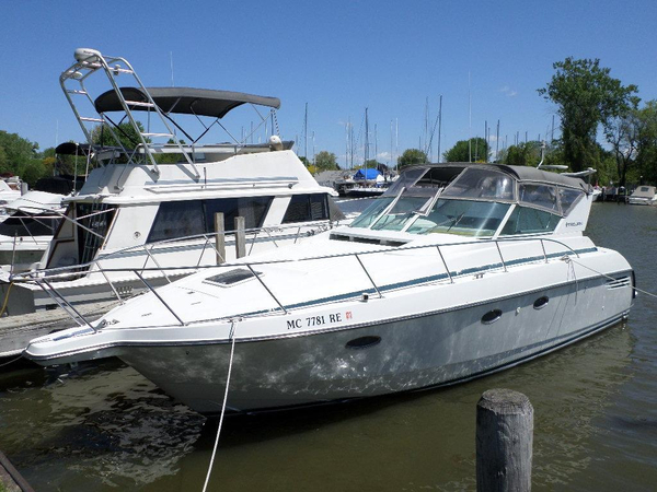 Used Trojan 350 Express Cruiser Boat For Sale