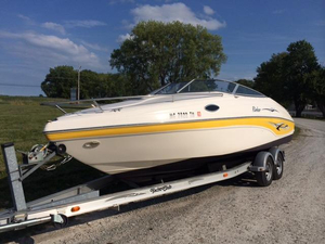Used Rinker 232 Captiva Cuddy Cruiser Boat For Sale