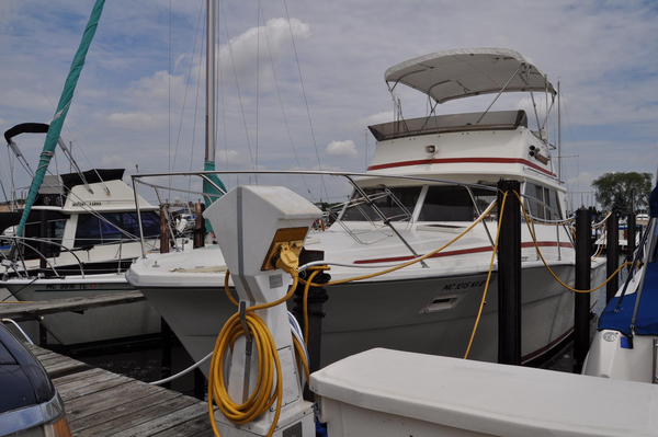 Used Viking 35 Convertible Flybridge Boat For Sale
