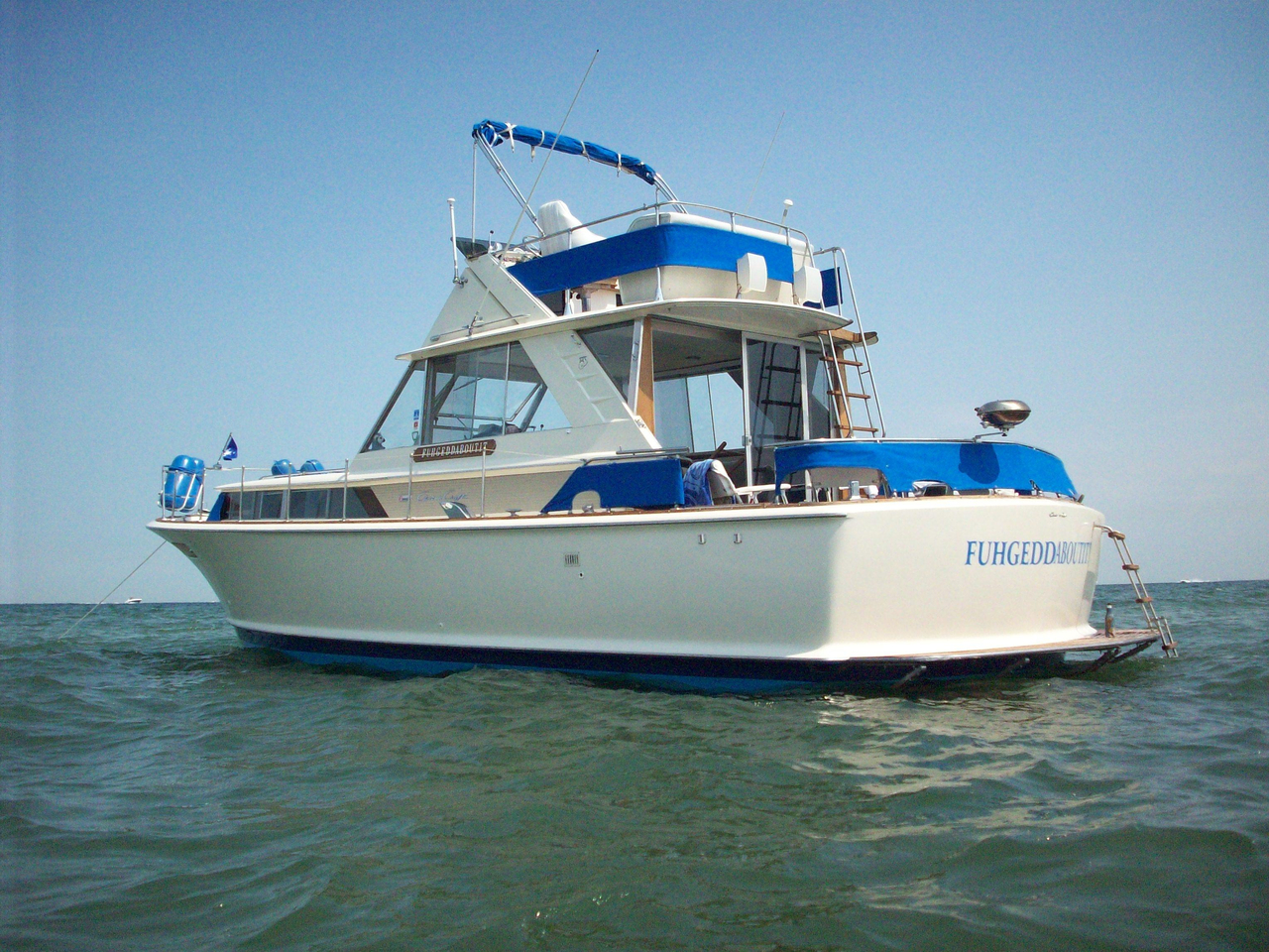 1966 used chris craft 38 commander convertible fishing for Used fishing boats for sale in michigan
