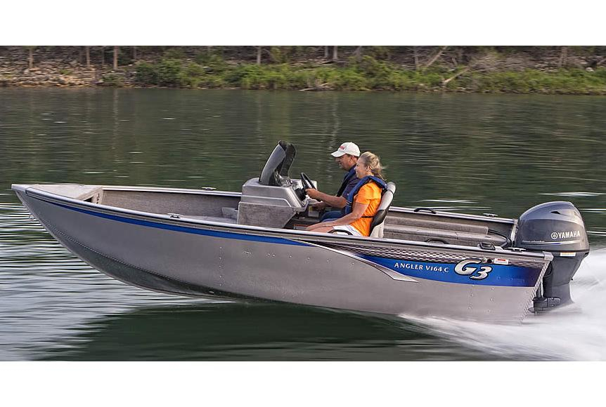 2015 new g3 angler v164 c aluminum fishing boat for sale for Used aluminum fishing boats for sale in michigan