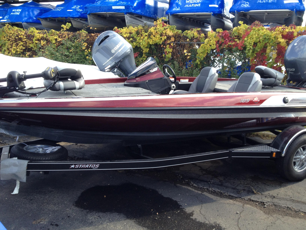 2014 used stratos 189 vlo bass boat for sale 30 999 for Used fishing boats for sale in michigan