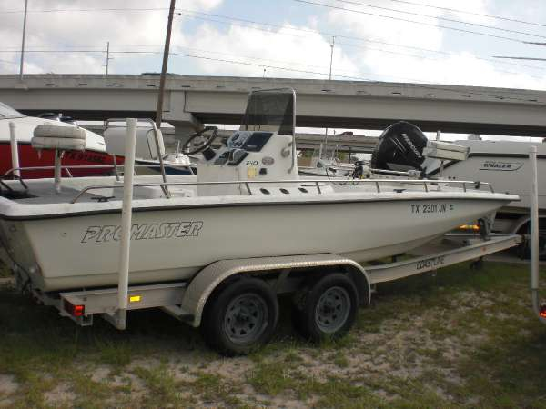 2001 used promaster 210 center console fishing boat for for Used center console fishing boats for sale